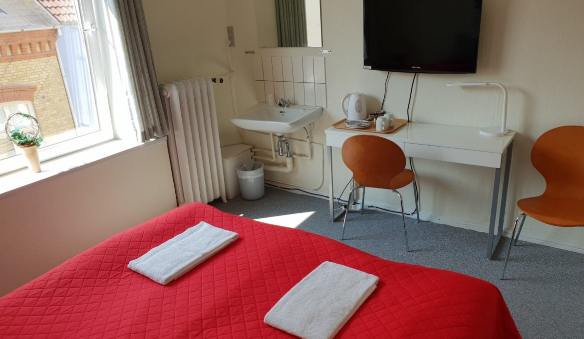 Double Room with shared shower & toilet